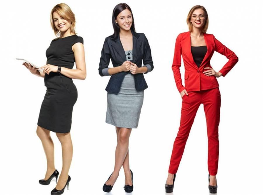 Moderne i jednostavne haljine za poslovnu ženu