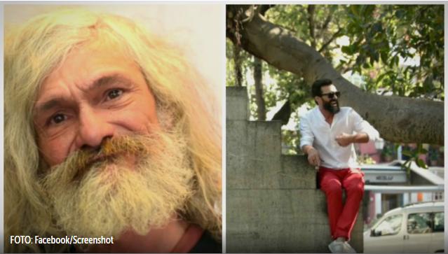 Nevjerojatan preobražaj: Frizer beskućnika pretvorio u šarmantnog zavodnika
