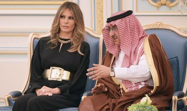 Luksuzna izdanja Melanie Trump za službenu posjetu Saudijskoj Arabiji