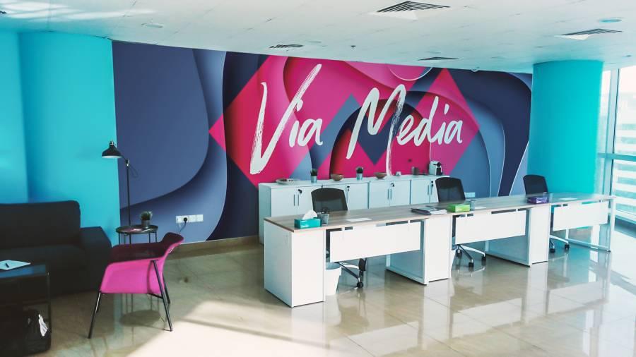 Za 20. rođendan Via Media se počastila novim uredom u Dubaiju