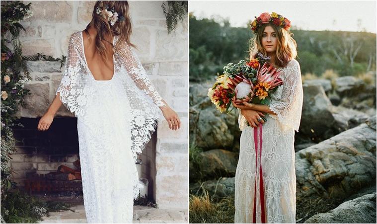 Neodoljive haljine za ljetna boho vjenčanja