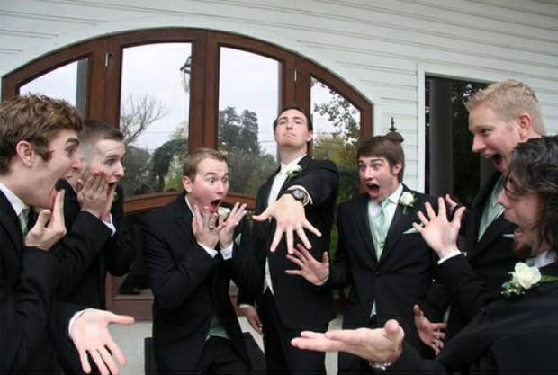 Ovo su najoriginalnije fotke s vjenčanja!