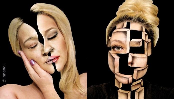 """Ona uspijeva """"zavrnuti, smotati i prerezati"""" lice pomoću šminke (FOTO)"""