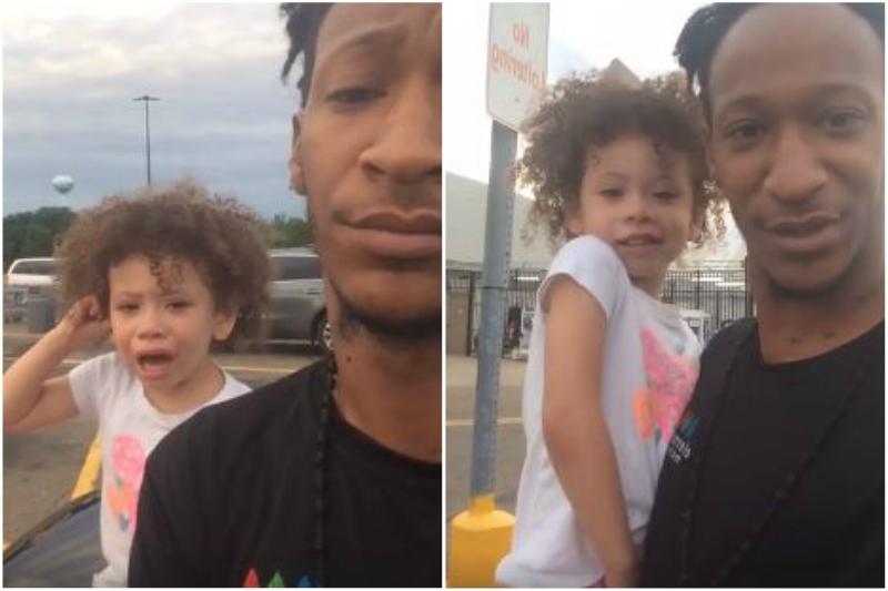 Kada razmaženom djetetu kažete 'Ne': 20 miliona ljudi uživo gledalo tatinu metodu smirivanja dječijeg bijesa (VIDEO)