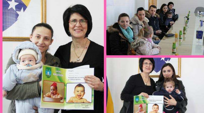 Pozitivna priča dana: Prijem kod načelnika opštine Kalesija i novčana sredstva za majke porodilj