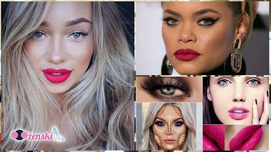 Najbolji makeup trikovi za okruglo lice
