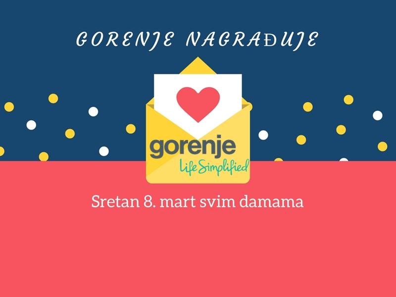Gorenje nagrađuje za 8. mart žene u Sarajevu, Banja Luci, Mostaru i Tuzli