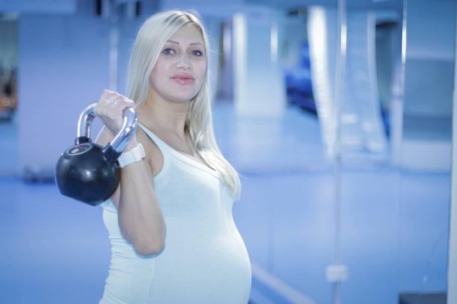 Trenira u devetom mjesecu trudnoće: Ovako mi dani brže prolaze (VIDEO)