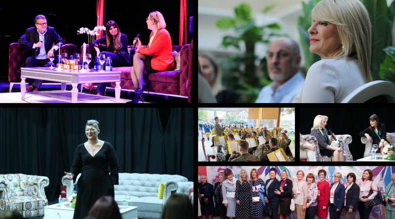 SVE FOTOGRAFIJE NA JEDNOM MJESTU: Ko je bio i šta je radio na Festivalu savremene žene 2018?