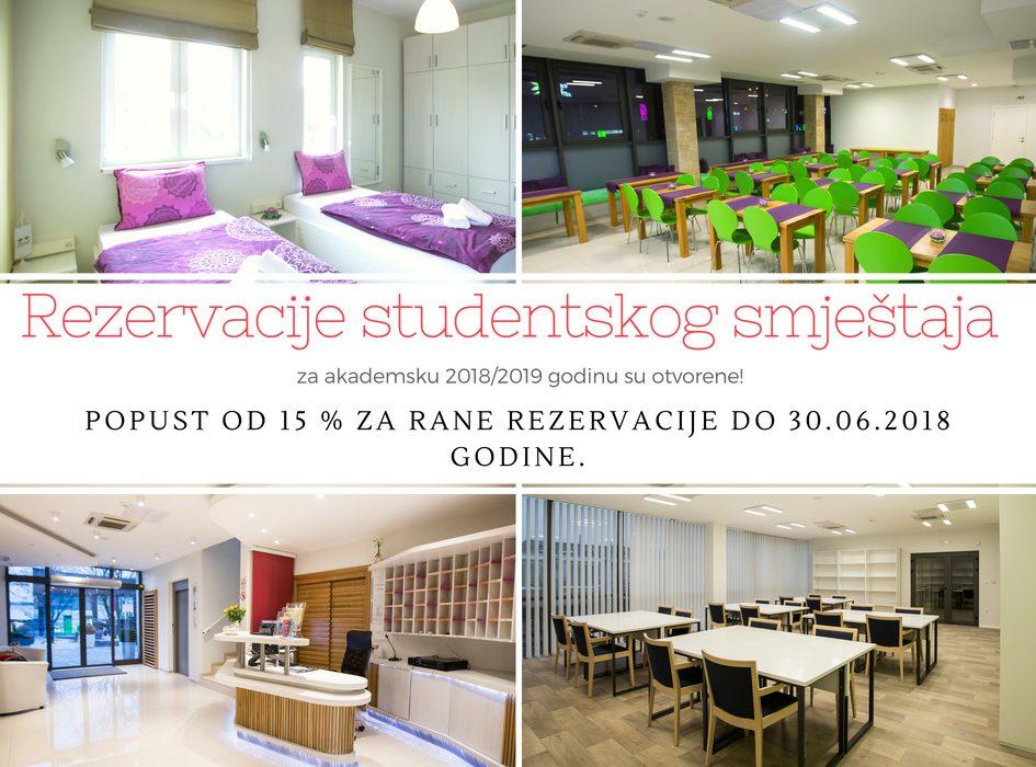 NE PROPUSTITE POGODNOSTI: Počele su rezervacije studentskog smještaja u University hotelu Dorrah!