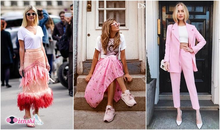 Jer ženstvene ružičaste nijanse su uvijek dobra ideja!