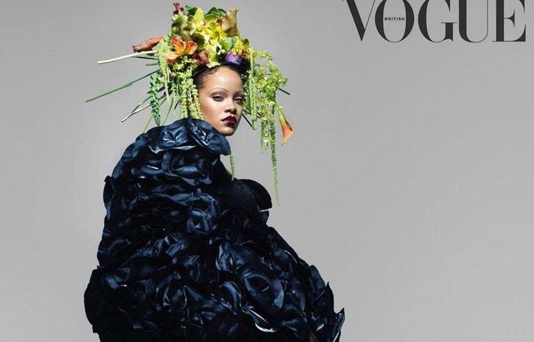 Rihanna se za naslovnicu Voguea oprostila od obrva