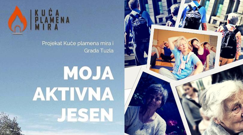 Kuća Plamena Mira: BESPLATNE RADIONICE za osobe treće dobi u Tuzli