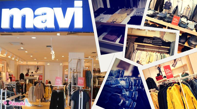 MAVI JEANS: Specijalna ponuda u njihovom butiku u RK Tuzlanka