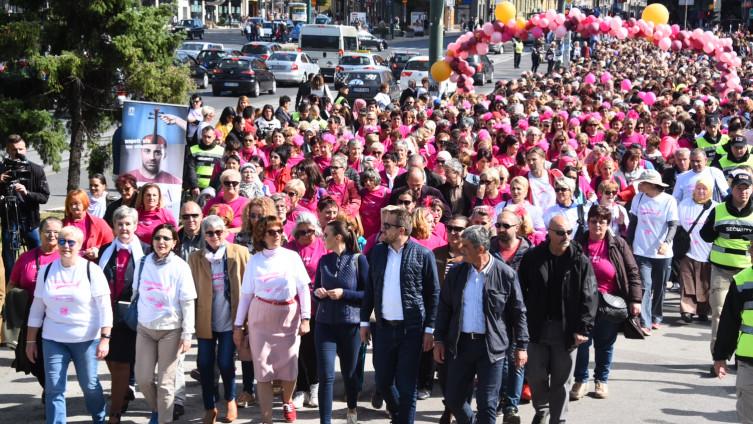 BRAVO: Hiljade građana pokazalo podršku borbi protiv raka dojke
