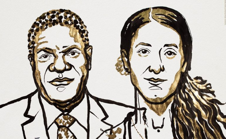 Hrabri ginekolog i žrtva silovanja su dobitnici Nobelove nagrade za mir