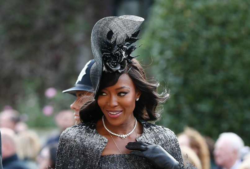 Haljina Naomi Cambel ukrala show na kraljevskom vjenčanju