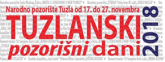 TUZLANSKI POZORIŠNI DANI 2018: Večeras svečano otvorenje uz predstavu Miodraga Žalice