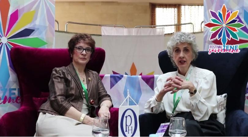 FESTIVAL SAVREMENE ŽENE: Sa Erminom Iljazović i Vesnom Kesić o savremenoj ženi koja brine o sebi