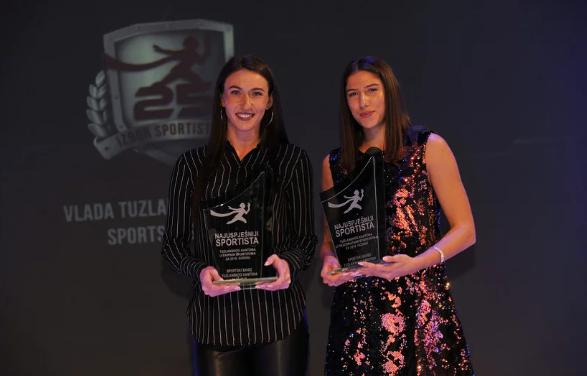 SUPER ŽENE IZDOMINIRALE: Nefisa Berberović i Danira Musić najuspješnije sportistkinje TK za 2018.godinu