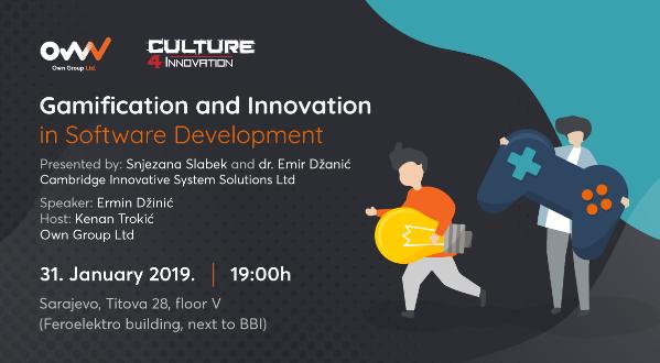 Meetup o gejmifikaciji i inovacijama u Sarajevu