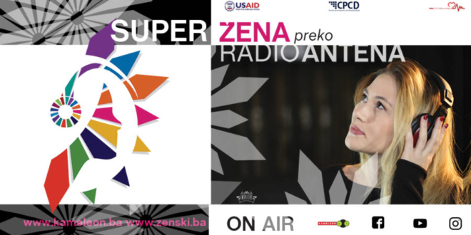 Počinje najveći radijski show posvećen ženama u Bosni i Hercegovini