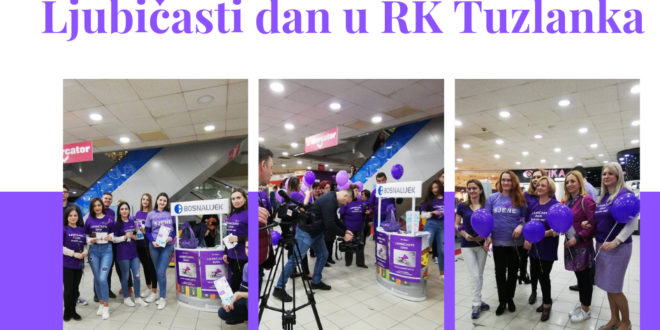 RK Tuzlanka: Ljubičasti dan podrške oboljelim od epilepsije
