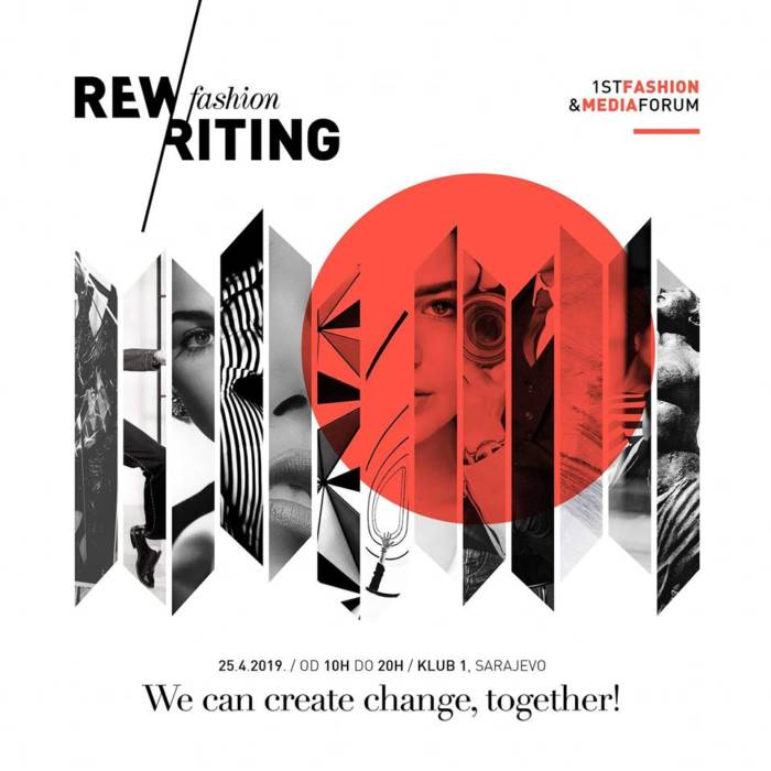 Prvi modni forum 'Rewriting fashion / We can create change, together!' počinje sutra