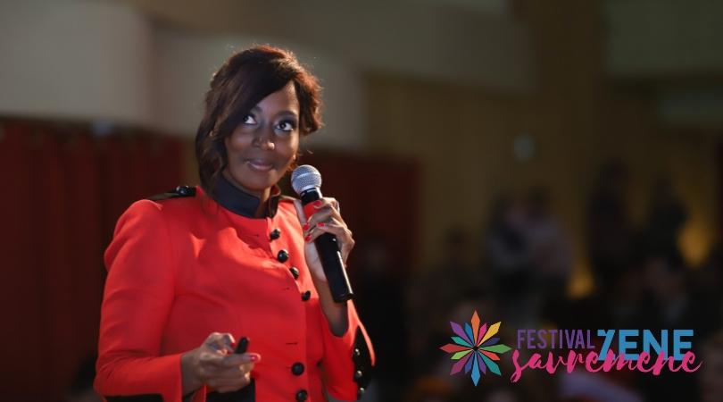 Bisila Bokoko svjetski poznata poduzetnica podigla na noge publiku Festivala 2019.
