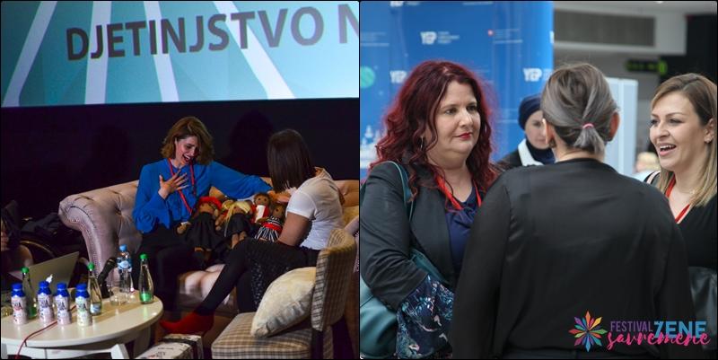 FESTIVAL SAVREMENE ŽENE // U toku je drugi dio panel diskusija: Fenomenalne govornice i teme (FOTO)