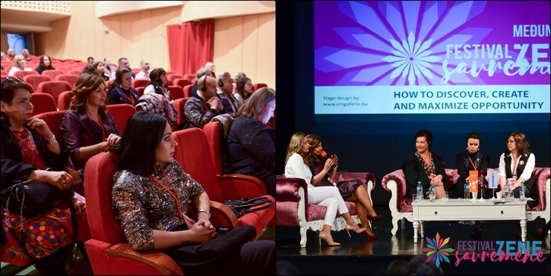 FESTIVAL SAVREMENE ŽENE // Narodno pozorište Tuzla: Održane nove panel diskusija sa inspirativnim govornicama (FOTO)