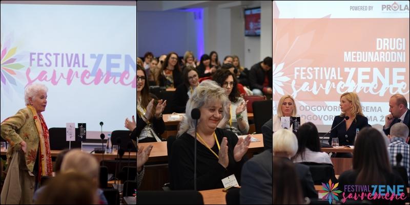 FESTIVAL SAVREMENE ŽENE // Gradska vijećnica Tuzla: Panel diskusije sa fenomenalnim govornicama (FOTO)