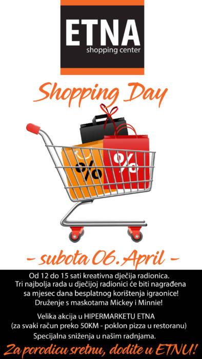 SC ETNA vam za početak aprila donosi SHOPPING DAY!