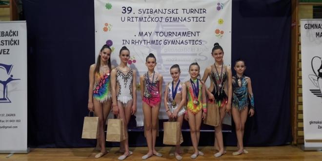 Zagreb: Osam medalja za tuzlanske gimnastičarke