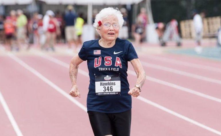 Ova baka ima 103 godine, dvije zlatne medalje i više energije od vas