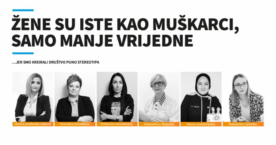 Kampanja: Žene su iste kao muškarci – samo manje vrijedne