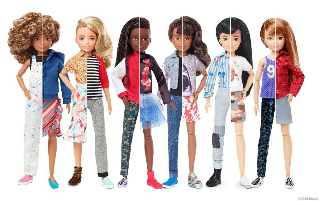 Kompanija Mattel predstavila rodno neutralnu kolekciju lutaka i poručila: Bez etiketa