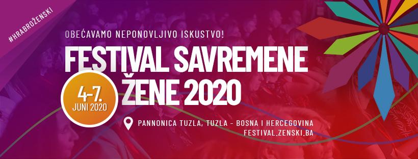NAJAVLJUJEMO III FESTIVAL SAVREMENE ŽENE U TUZLI