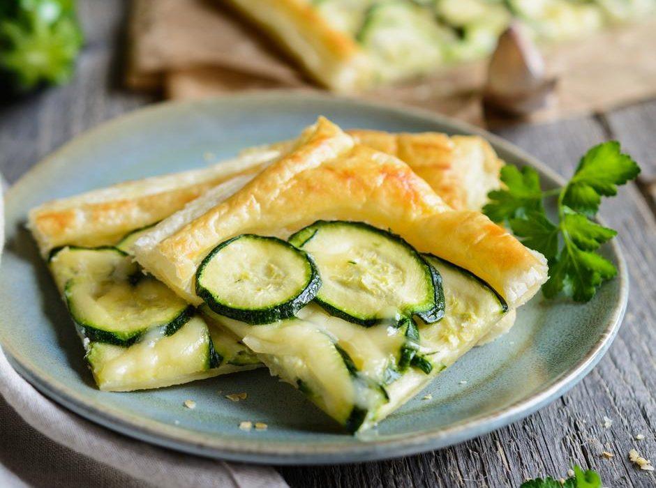 Najjednostavnija pita od tikvica i sira