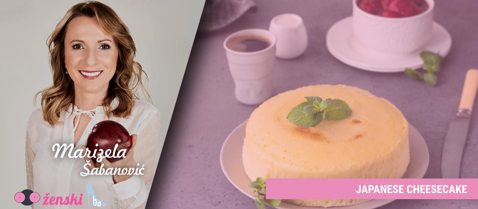 Japanski cheesecake