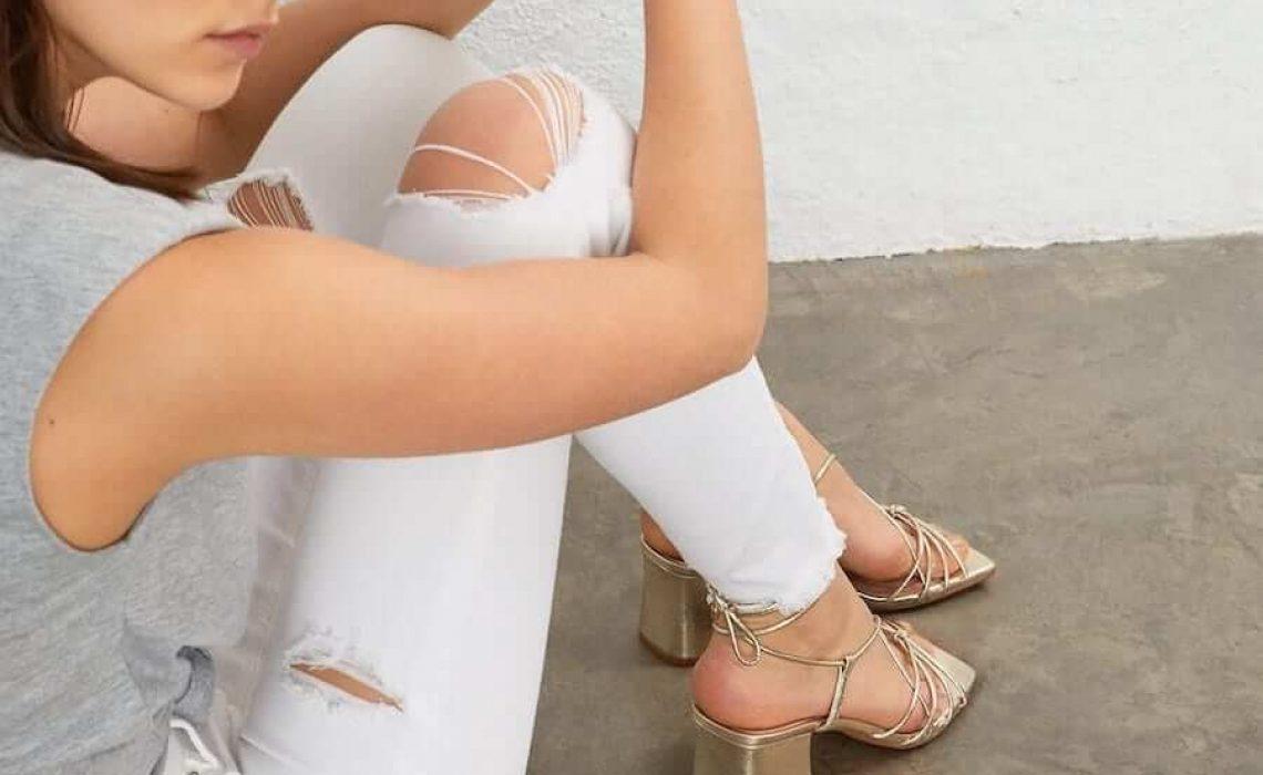 Zlatne sandale u kojima želimo provesti ljeto