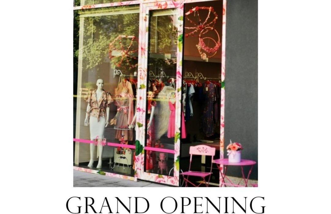 Zavirite u novi butik u gradu. Danas svečano otvaranje!!