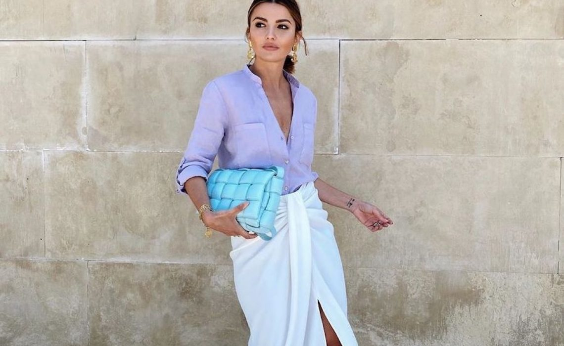 Midi suknja iz Zare koje je favorit influencerica zbog svoje raznolikosti