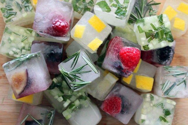 Aromatizirane kocke leda kao idealno osvježenje tokom ljeta