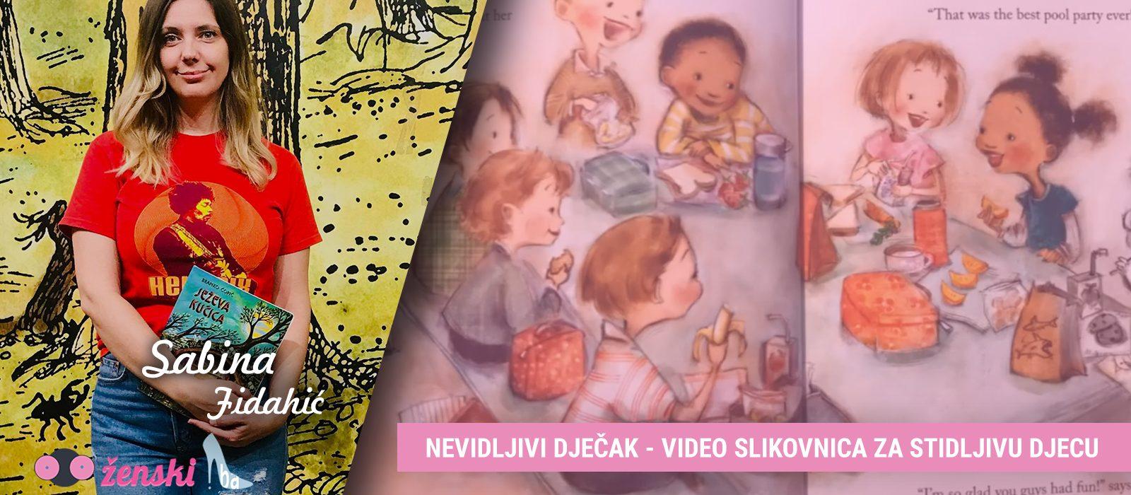 PRIČE ZA DJECU – Nevidljivi dječak – video slikovnica za stidljivu djecu