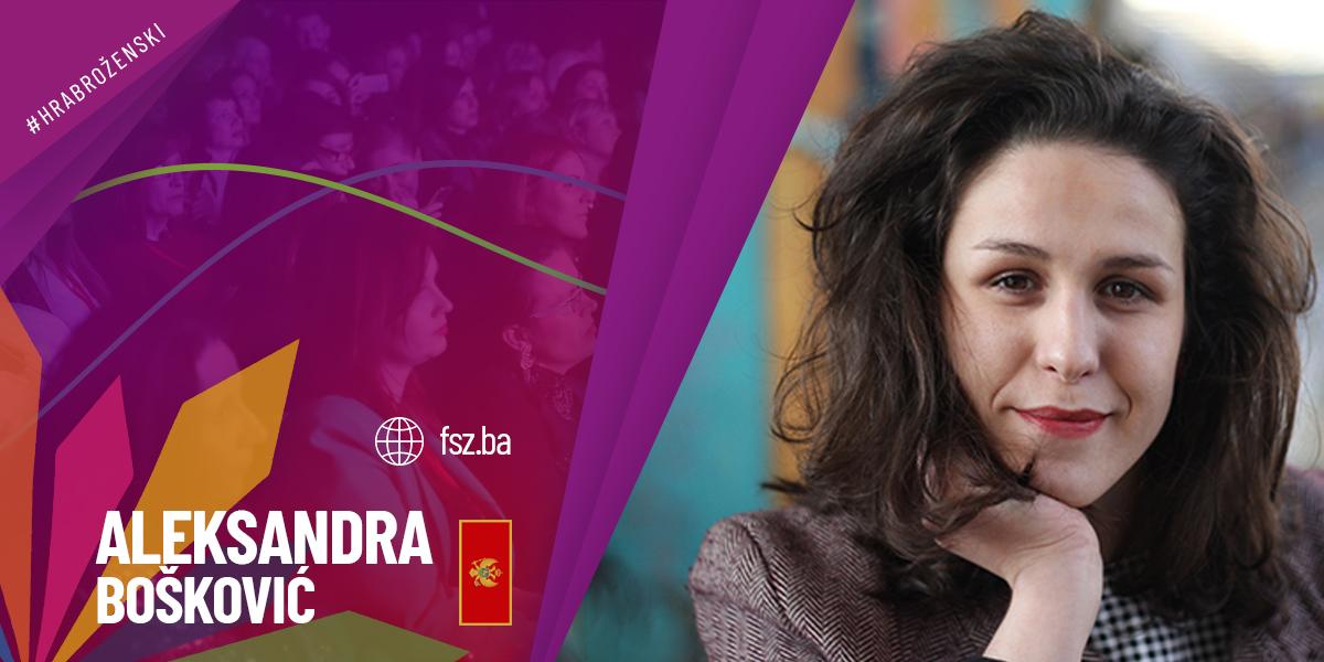 ALEKSANDRA BOŠKOVIĆ  – direktorica jedne od najvećih softverskih kompanija u Crnoj Gori