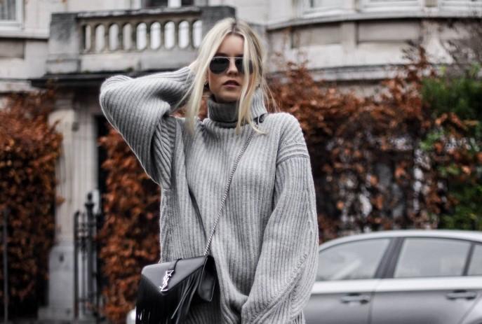 Street style inspiracija: 17 načina kako nositi džemper haljinu