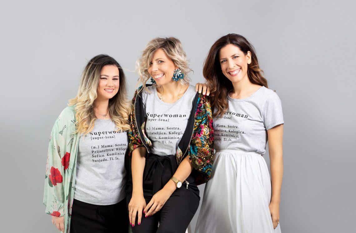 Ana i Dijana Ćavar – #FEELGOOD majice za svaku od nas