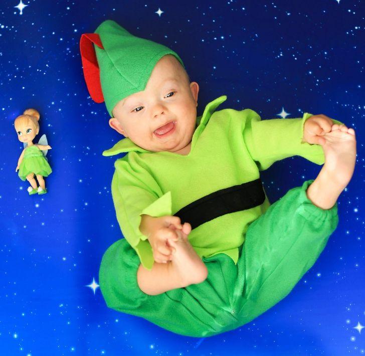Djeca s Downovim sindromom poziraju kao omiljeni Disney likovi