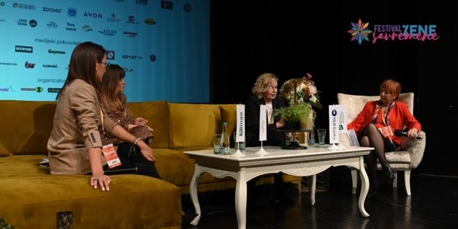 Festival savremene žene – Online obraćanjem ovogodišnje panele zaključila Olivera Balašević